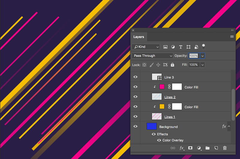 Editable Photoshop Layers