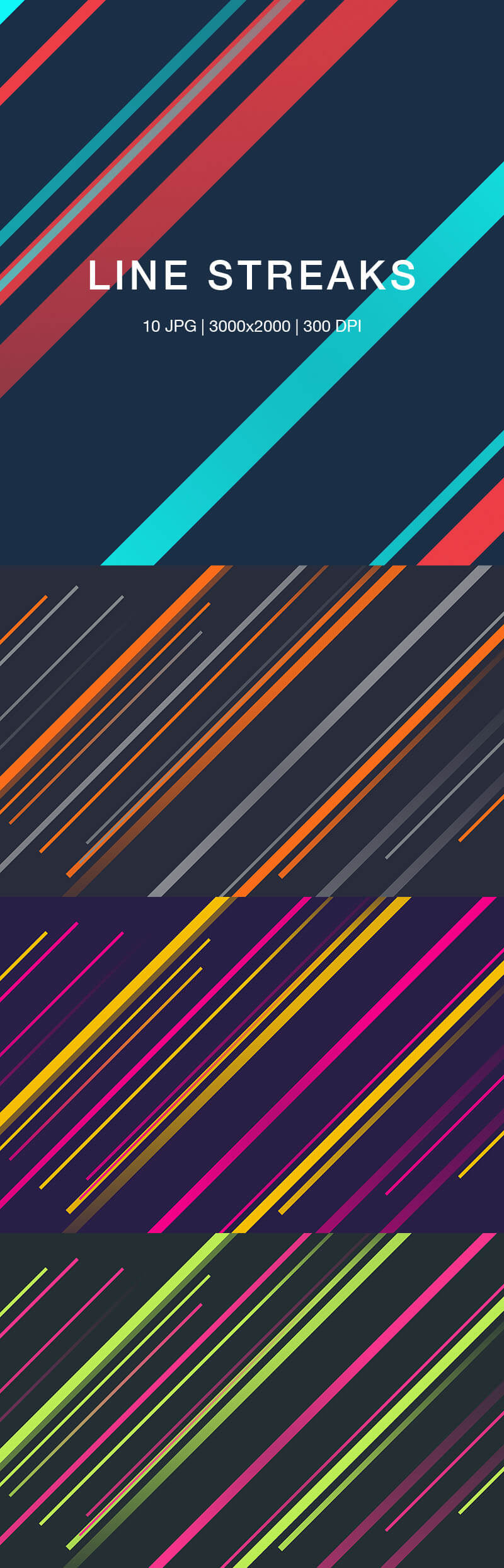 Line Streaks Backgrounds Preview