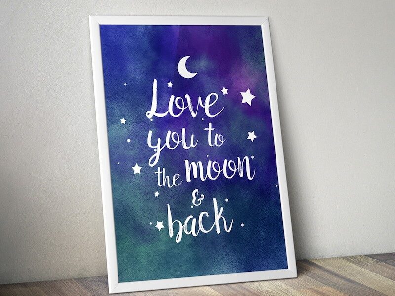 love-you-to-the-moon-poster