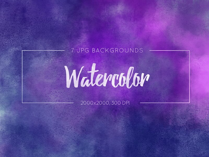 Watercolor Texture Backgrounds