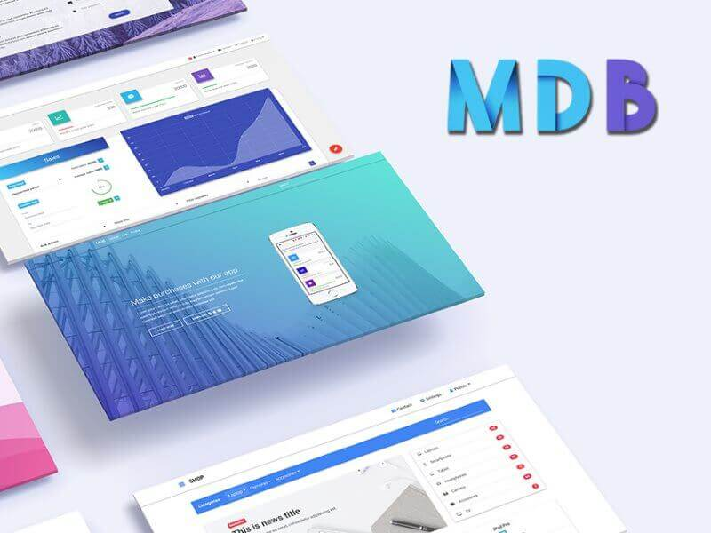 Material Landing : A Material Design Landing Page Template
